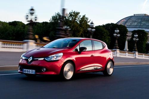 Renault Clio (etanol) Klicka på pilarna för resten av listan.