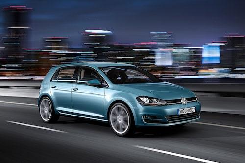 Volkswagen Golf (etanol) Klicka på pilarna för resten av listan.