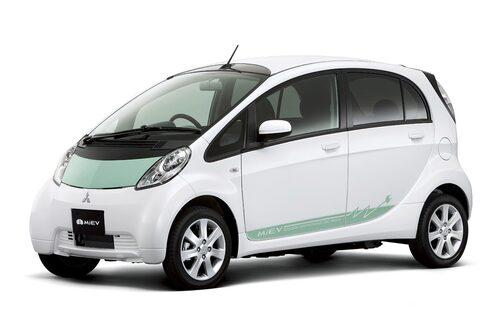 Mitsubishi i-MiEV (elbil) Klicka på pilarna för resten av listan.