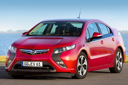 Opel Ampera är en laddhybrid och blir miljöbil.