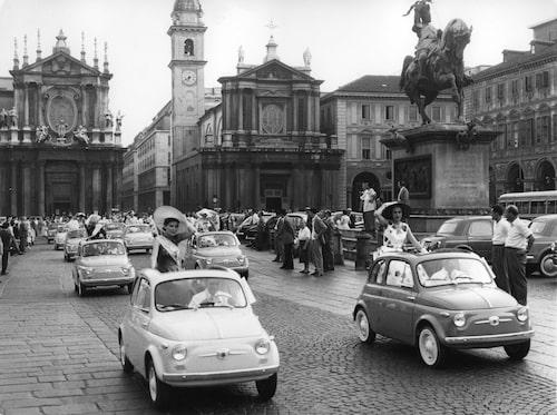 Originalet: Fiat 500 från 1957.