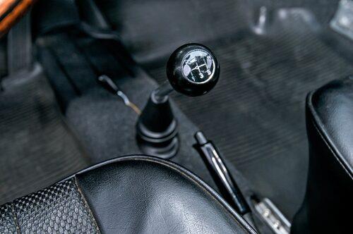 """Den halvautomatiska lådan Sportomatic var populär i USA. Här i Europa såldes dock nästan alla bilar med manuell """"dog leg""""."""