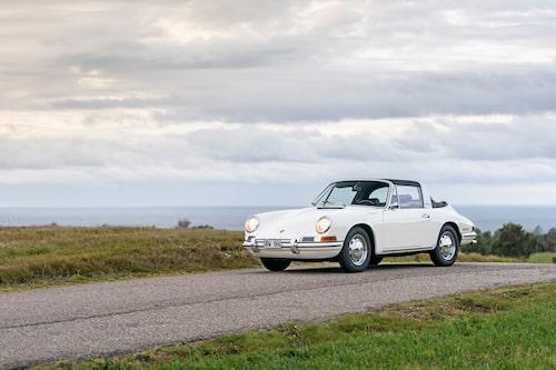 161010 Provkörning av en Porsche 911 Targa till KLB. Av och med Erik Wedberg. Foto: Patrik Lindgren