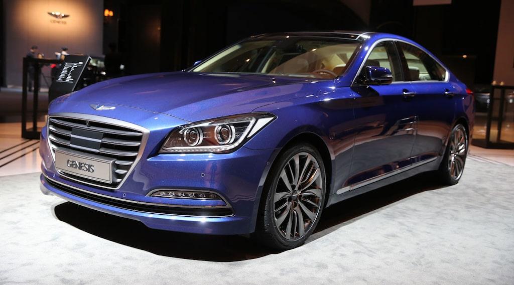 Nya Hyundai Genesis 2014