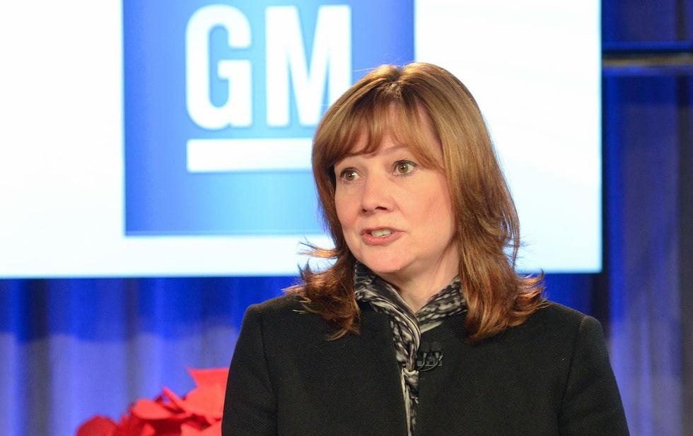 Mary Barra ny vd General Motors