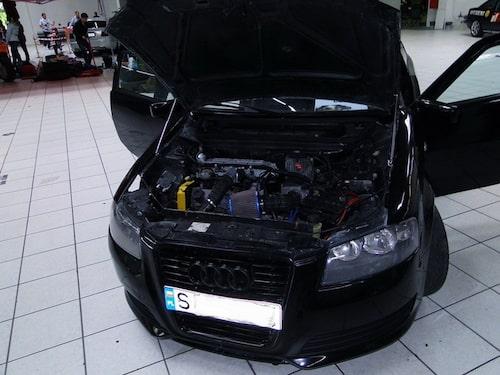 Motorn har fått sig en översyn med bland annat ett vassare luftfilter.