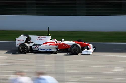 Jarno Trulli, Toyota.