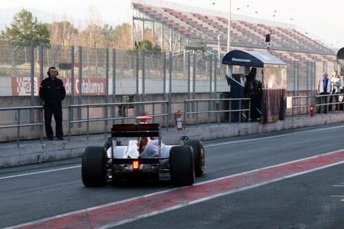Toro Rosso begav sig snabbt ut...