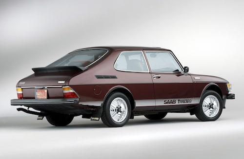 Saab 99 Turbo som tredörrars Combi Coupé-modell.