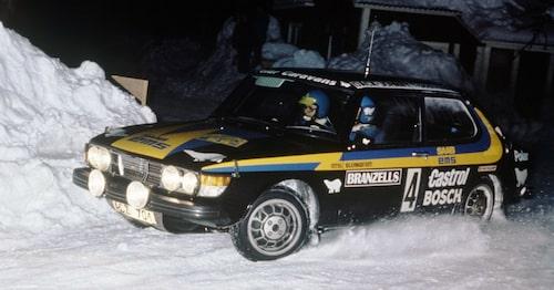 1979 vann Saab 99 Turbo Svenska Rallyt med Stig Blomqvist bakom ratten. Därmed blev 99 Turbo första turbobil att vinna en deltävling i rally-VM.