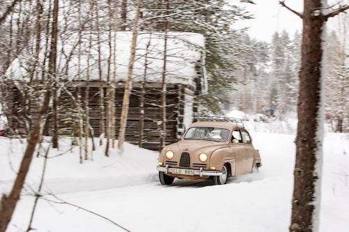 96-modellen blev den Saab som tog allra flest motorsportskalper, många med tvåtaktsmotorn men även med V4:an.