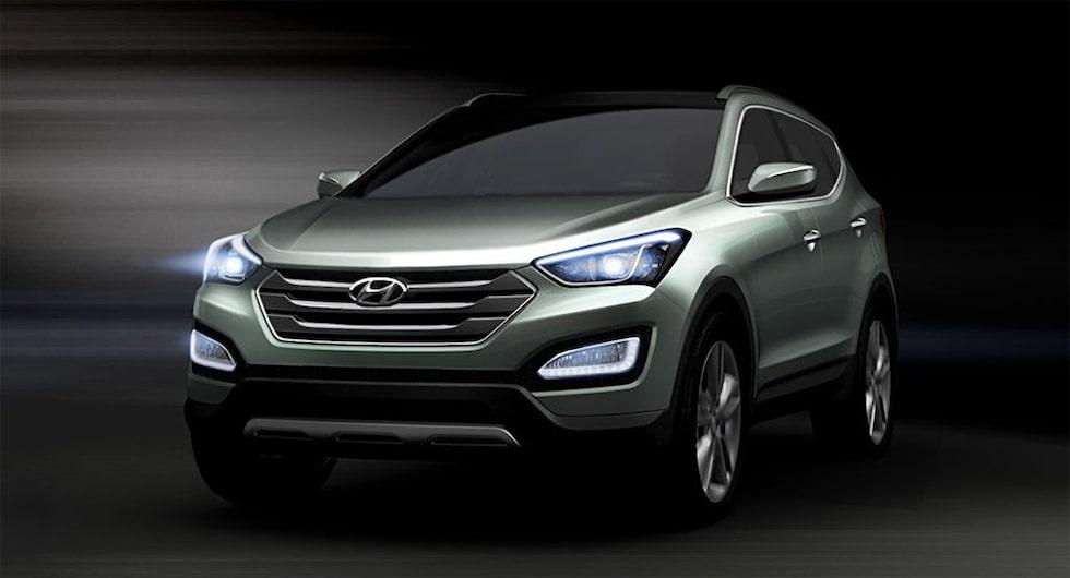 Nya Hyundai Santa Fe (ix45)