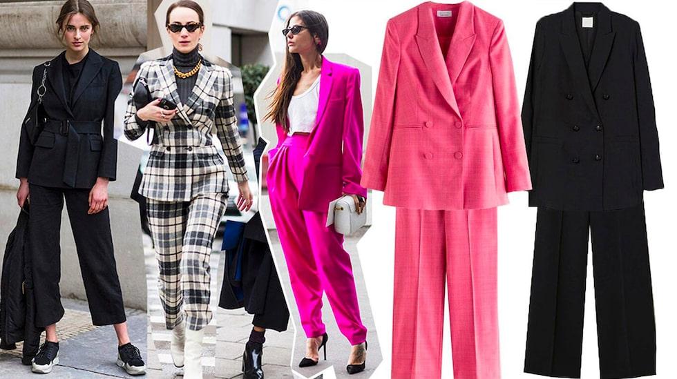 I höst är det trendigt med kostym – här är våra favoriter.