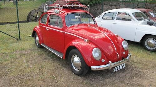 Volkswagen 1200 från början av 1960-talet.