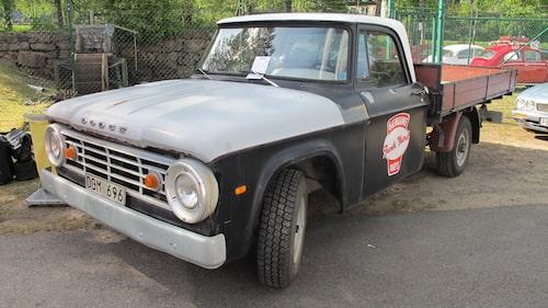 Dodge D200 från 1966.