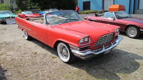 Chrysler 300C från 1957.