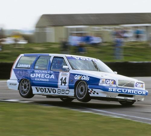 Förebilden: Volvo 855 GLT i BTCC 1994. Här med holländaren Jan Lammers bakom ratten.