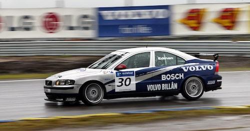Europeiska standardvagnsmästerskapet ETCC satsade Volvo på under 2002 med en S60 och Rydell bakom ratten.