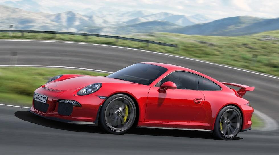 Nya Porsche 911 GT3 2014