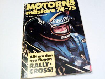 Årsbok 1974-1975. Skriven på svenska.