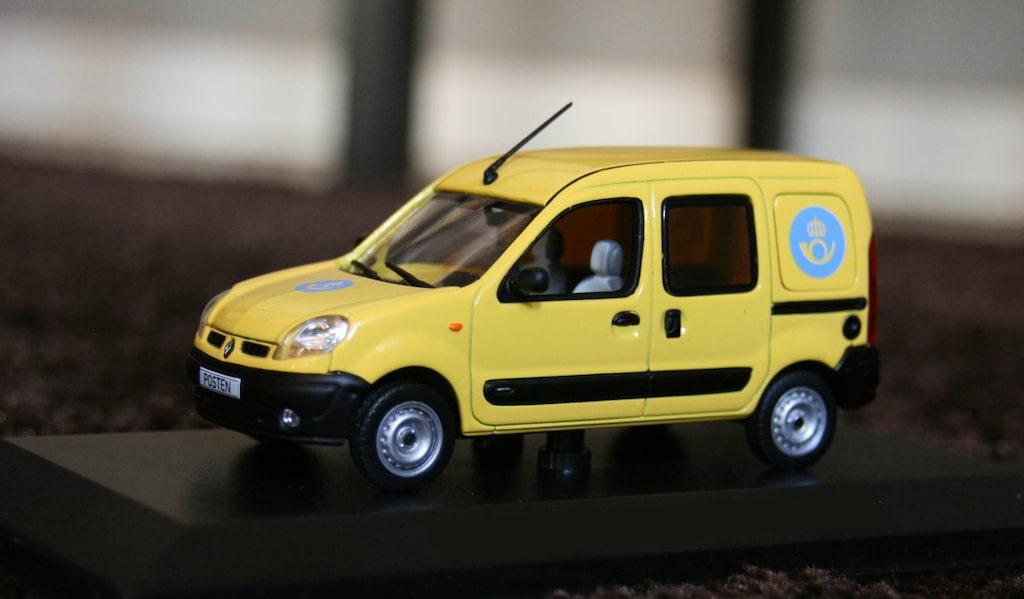 Postbil Renault Kangoo