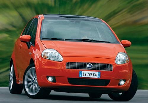 Provkörning av Fiat Grande Punto