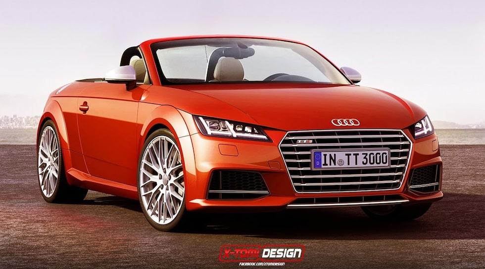 Nya Audi TT Cabriolet