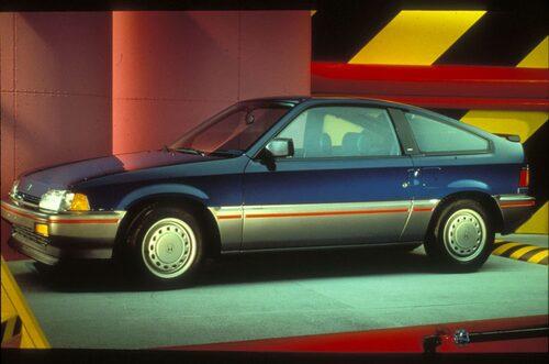 5. Honda Civic Coupe HF. 1986-1987.