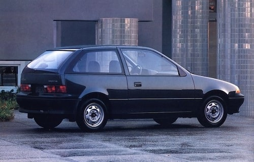 10. Suzuki Swift. 1989.