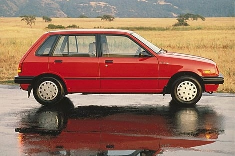 3. Chevrolet Sprint ER. 1986.