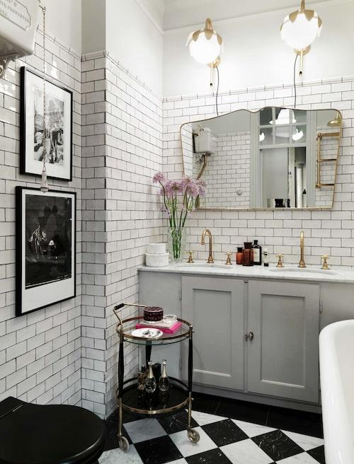 Ur Klassiskt elegant hemma hos grundarna till bagerikedjan Fabrique, Sköna hem 2016.