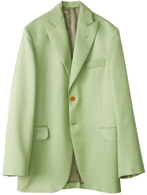 Grön kavaj av viskos ull, stl 32-42, 6 600 kr, Acne Studios.