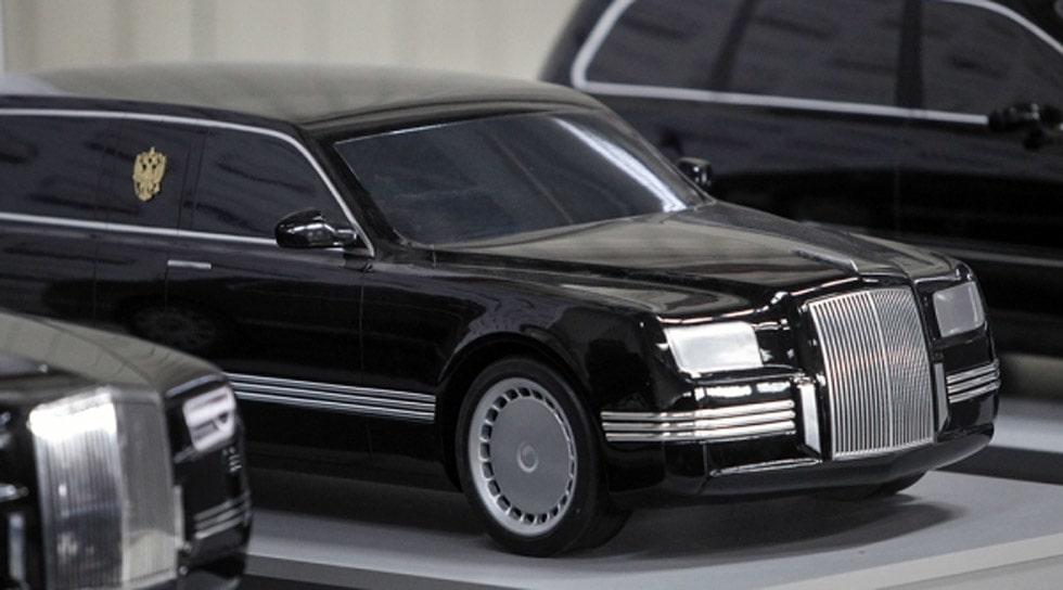 Vladimir Putin limousin