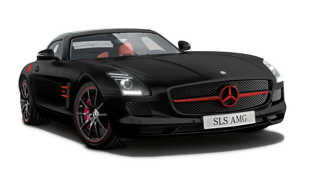 Mercedes SLS AMG Matt Edition