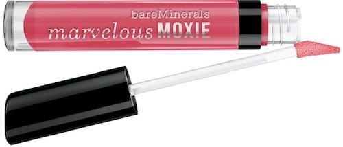 Lisas favorit: Marvelous moxie lip gloss i nyans Hot shot, 279 kr, Bare Minerals.