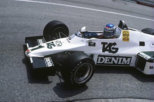 Keke Rosberg på Monacos gator 1983.