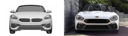 … lite väl tycker min kollega som jämför med… en Fiat!