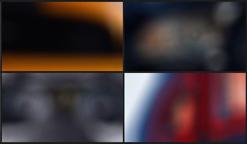 Den här bilden lade Ford upp på Facebook-sidan för Mustang. För var 5 000:e delning skulle en bild göras skarp.