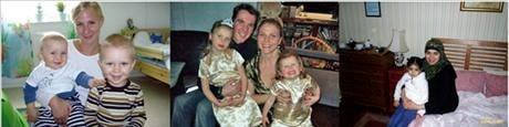 Här är några av våra flitiga mamma-bloggare