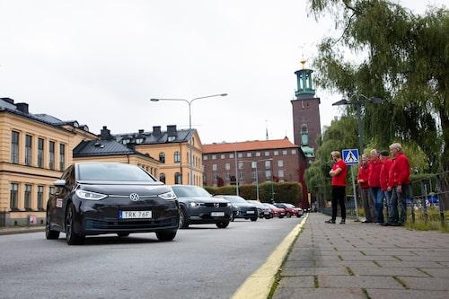 Volkswagen ID.3 har hittat fram till den svenska huvudstaden. Konkurrenterna står redo.