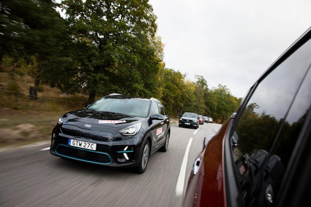 Kia Niro är landets tredje mest sålda bil hittills i år. Laddhybriden står för största delen.