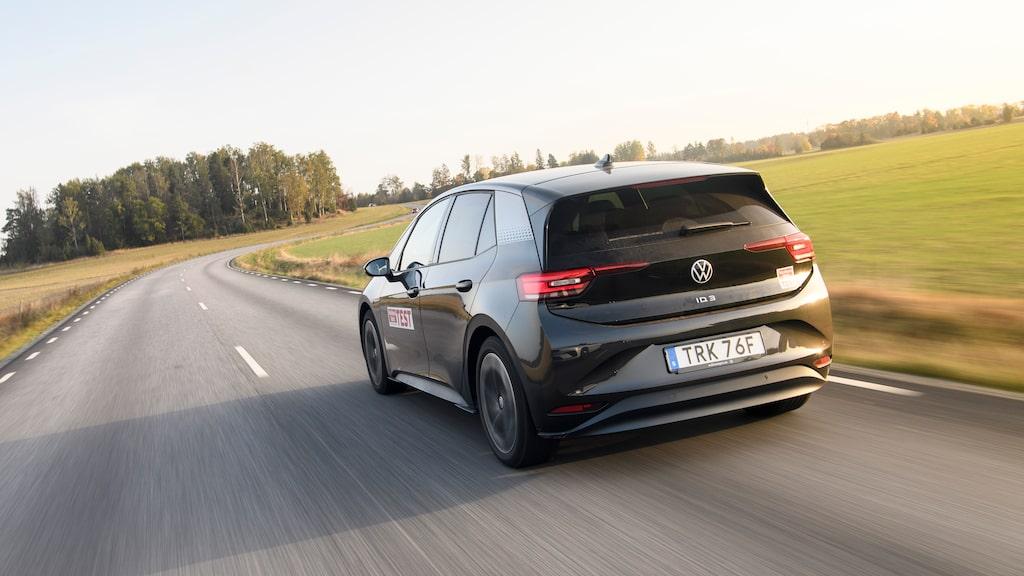 ID.3 är första bilen på många år från Volkswagen som driver enbart på bakhjulen.