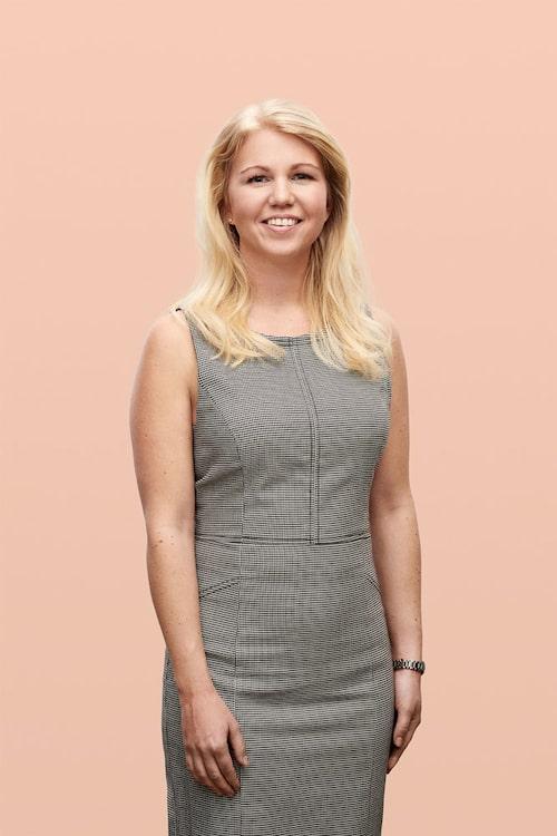 Elina Berglund är kvinnan bakom appen.