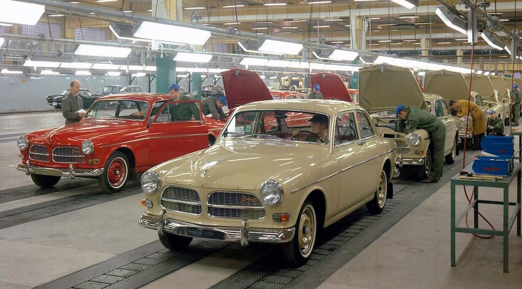 Volvo Amazon Torslandaverken 1964