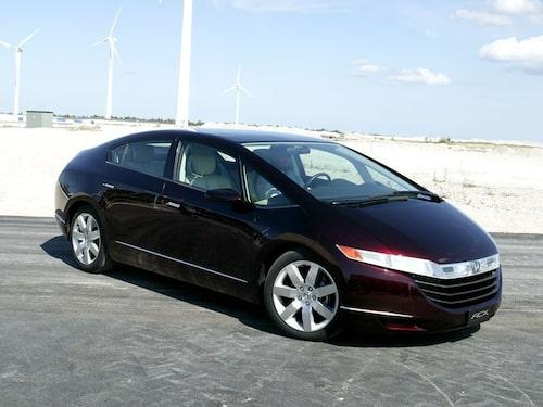 World Green Car 2009 - Honda FCX Clarity. Foto: Teknikens Värld
