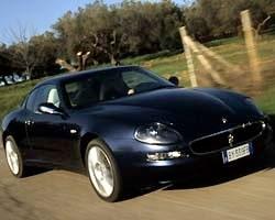 Provkörning av Maserati Coupé