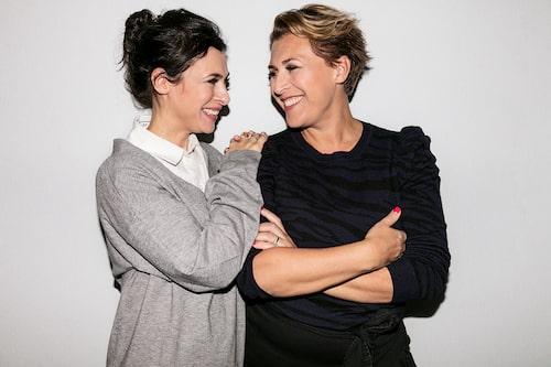 Amanda Schulman och Hanna Widell.