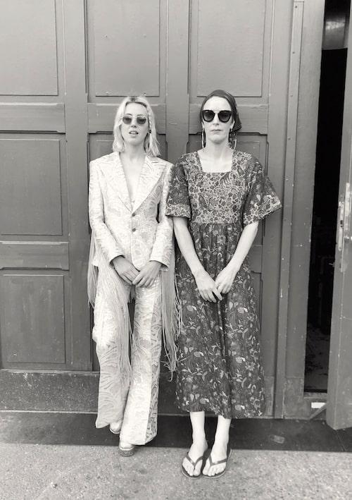 Veronica Maggio och Karin Smeds.