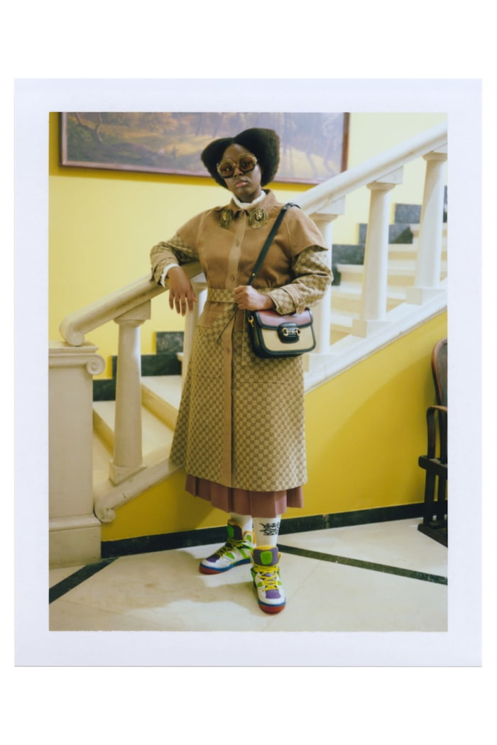 Sneakers hos Gucci våren 2021.