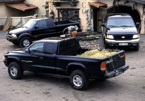 Chevrolet S10, Dodge Dakota och Ford F150